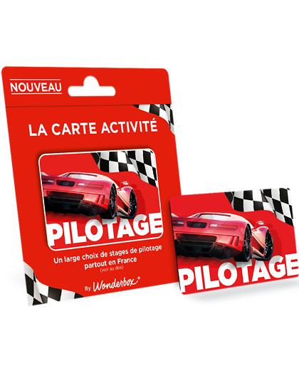 Wonderbox Coffret cadeau - Carte PILOTAGE - Sport & Aventure