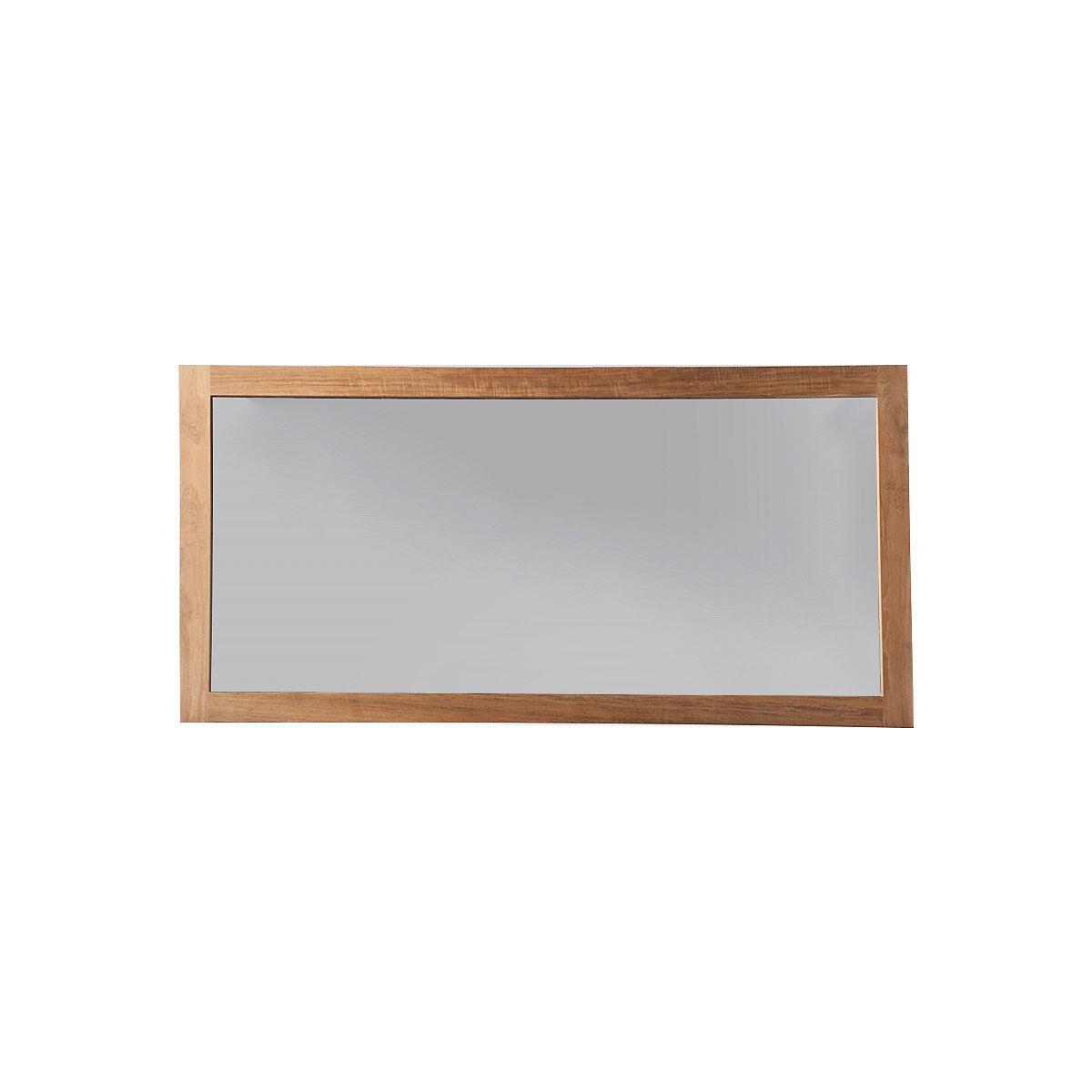 Miliboo Miroir de salle de bain teck 140x70 cm SANA