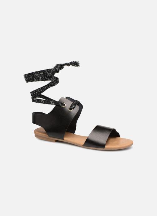 Ippon Vintage SAND-BEACH - Sandales et nu-pieds Femme, Noir