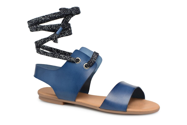 Ippon Vintage SAND-BEACH - Sandales et nu-pieds Femme, Bleu
