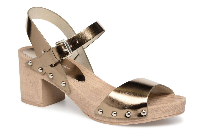 Ippon Vintage SOK-METAL - Sandales et nu-pieds Femme, Or et bronze
