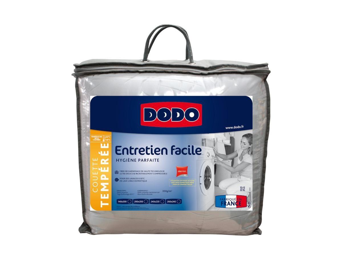 DODO Couette DODO compressible lavable à 95 degrés PERFECT MATCH - 240x220cm