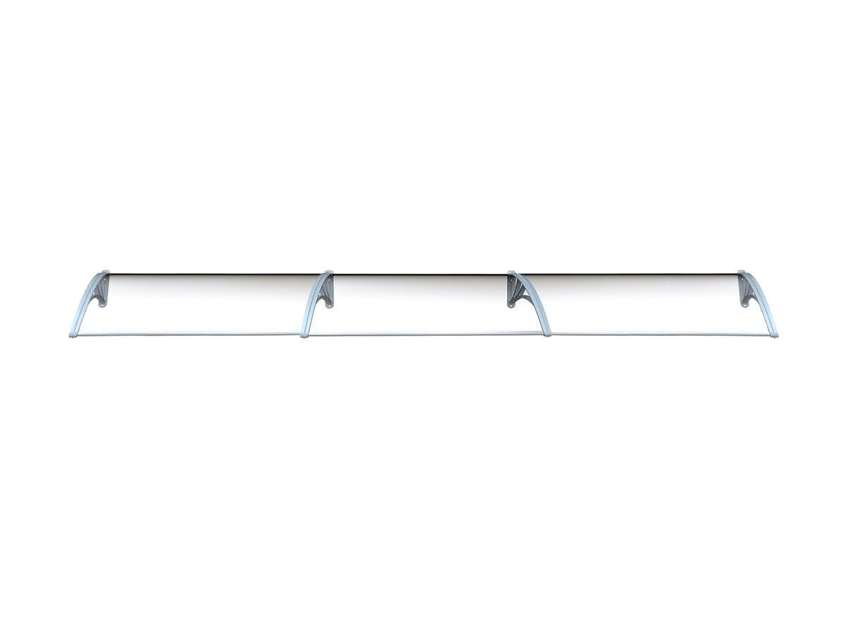 Vente-unique Auvent en kit COPALINA en aluminium - 400*92.5cm