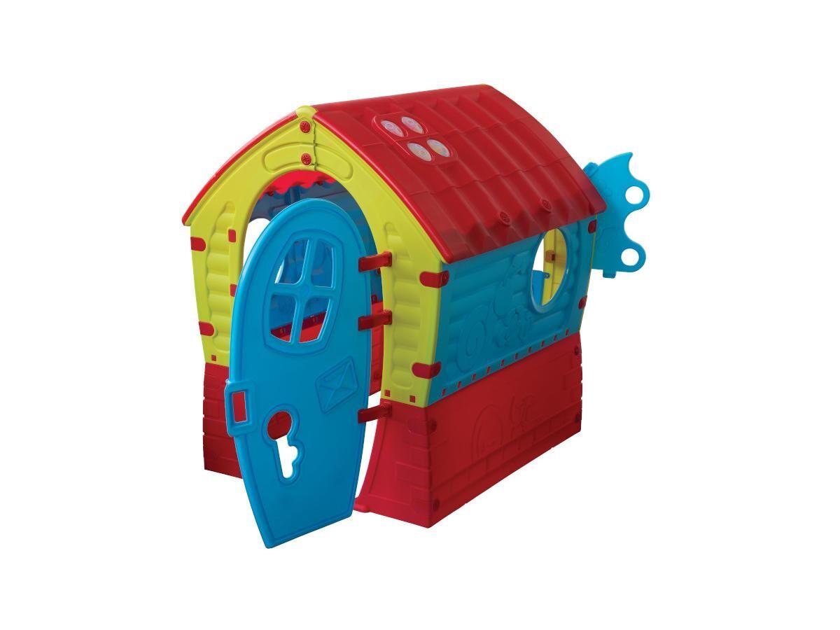 Vente-unique Maisonnette pour enfant SUZON - L95 x P90 x H110 cm