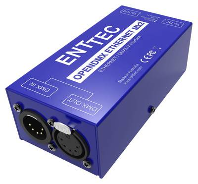 Enttec ODE Mk2 with POE