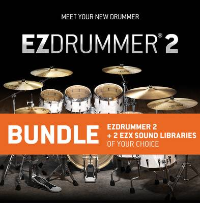 Toontrack EZ Drummer 2 EZX Bundle