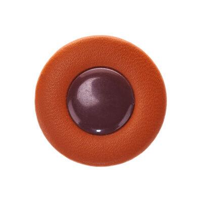 Pisoni Deluxe Sax Pad 36,5mm Cuir brun