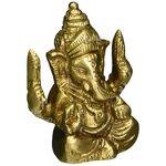 Shalinindia Statue Ganesha Sculpture Art Hindou Décor Spirituel?; Laiton?;... par LeGuide.com Publicité