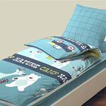 bleu calin  Bleu Câlin Caradou Parure de Lit Enfant 3 Pièces, Coton, NATURE... par LeGuide.com Publicité