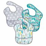 hippychick  HIPPYCHICK Super Bavoir 3 Pack Facile à nettoyer - le tissu... par LeGuide.com Publicité