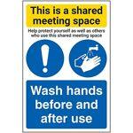 V Safety CV066AU-S Vsafety Commune Espace de réunion/lavage des mains... par LeGuide.com Publicité