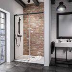 schulte  Schulte porte de douche coulissante, paroi en niche Black Style,... par LeGuide.com Publicité