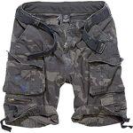 brandit  Brandit Savage Vintage Shorts, Darkcamo M M - Darkcamo - Short... par LeGuide.com Publicité
