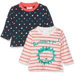 twins  Twins Jule T-shirt Bébé fille Lot de 2, Multicolore (Mehrfarbig),... par LeGuide.com Publicité