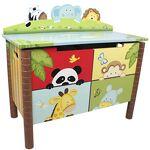Fantasy Fields Coffre à jouets meuble banc de rangement en bois chambre... par LeGuide.com Publicité