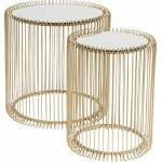kare  Kare Care Design, Doré, (H/B/T) 42,5xØ32,5cm & 45xØ44cm Ambiance... par LeGuide.com Publicité