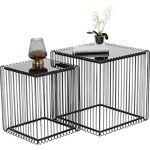 kare  Kare Table d'appoint Wire Square Noir 45 x 45 cm Décoratif :... par LeGuide.com Publicité