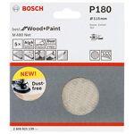bosch  Bosch 5 disques abrasifs M480 Best for Wood and Paint (Bois et peinture,... par LeGuide.com Publicité