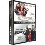 Kingsman + Spy Coffret 2 Films Date de sortie: 2017-10-04 par LeGuide.com Publicité