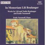 Lili & Nadia : in Memoriam Lili Boulanger CD Composer: Various par LeGuide.com Publicité