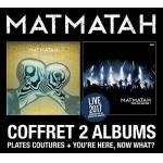 Matmatah Coffret Plates Coutures + You'Re Here, Now What ? (2 Cds)... par LeGuide.com Publicité