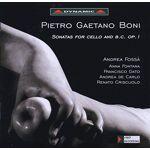 Boni, Pietro Gaetano Sonatas for Cello and B.C. OP.1 CD, Dynamic par LeGuide.com Publicité