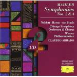 Mahler : Symphonies n° 2 et n° 4 CD, Deutsche Grammophon par LeGuide.com Publicité