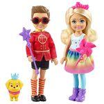 barbie  Barbie Dreamtopia Duo mini-poupées Chelsea et Notto en tenues de... par LeGuide.com Publicité