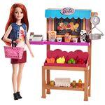 barbie  Barbie Métiers Stand de Fruits et Légumes pour poupée avec caisse... par LeGuide.com Publicité