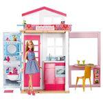 Barbie Mobilier coffret maison 2 étages et 4 pièces avec accessoires... par LeGuide.com Publicité