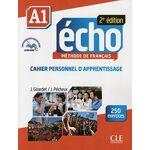 Jacques Pécheur Echo Niveau A1 Cahier personnel d'apprentissage... par LeGuide.com Publicité