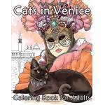 Happy Coloring Cats in Venice: Coloring book for adults Pages: 56, Broché,... par LeGuide.com Publicité