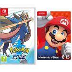 nintendo  Nintendo Pokémon Epée [Nintendo Switch] + Nintendo eShop Carte... par LeGuide.com Publicité