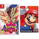 nintendo  Nintendo Pokémon Bouclier [Nintendo Switch] + Nintendo eShop... par LeGuide.com Publicité