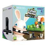 microsoft  Microsoft Console Xbox 360 4 Go + Kinect + Les lapins crétins... par LeGuide.com Publicité