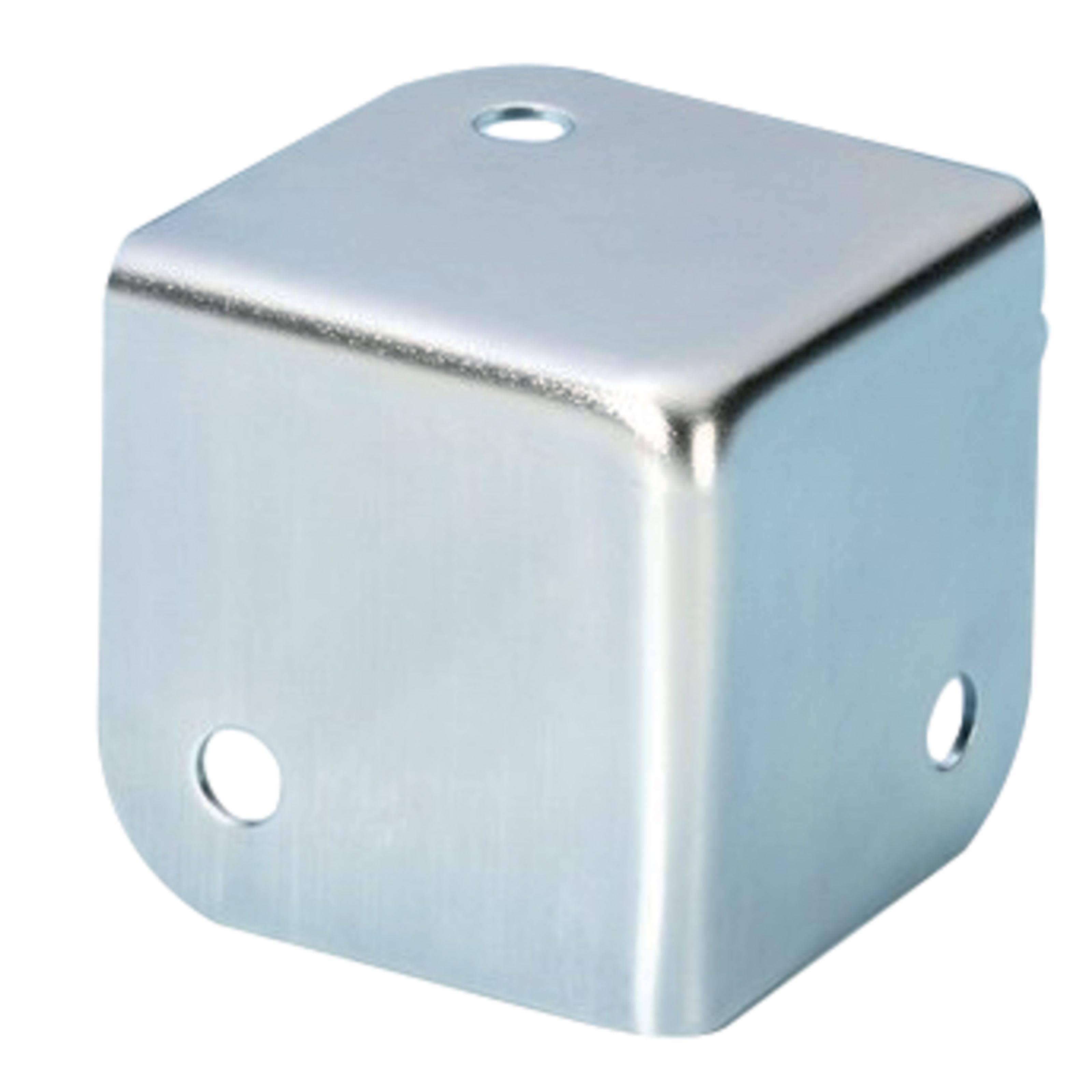 Adam Hall 4000 coin carré, zingué, radius intérieur 1,5 mm