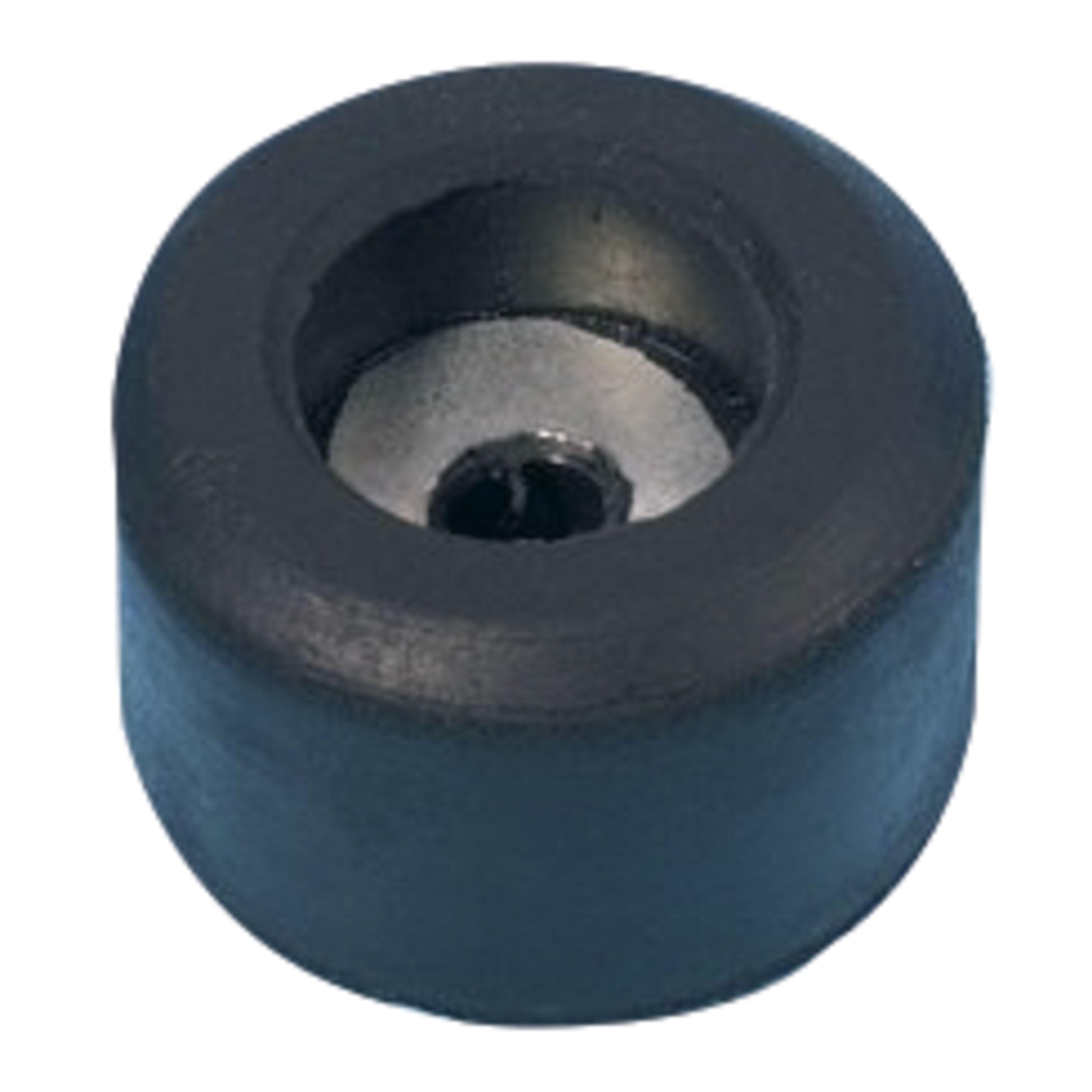 Adam Hall 4904 Pied caoutchouc 25 x 15 mm avec rondelle acier