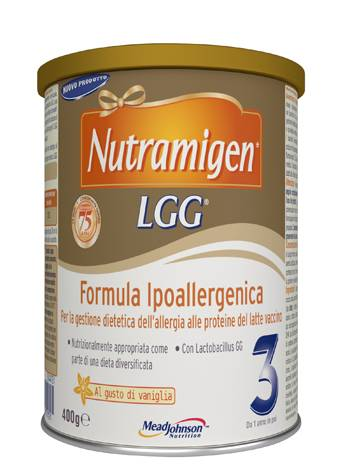 Reckitt benckiser h.(it.) spa Nutramigen 3 Lgg 400g