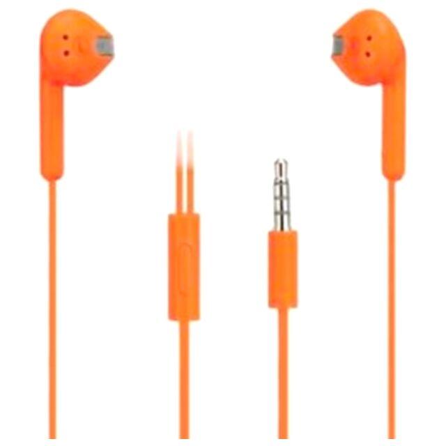 Microsoft Auricolare Originale Stereo Wh-308 Orange Bulk Per Modelli A Marchio Nokia