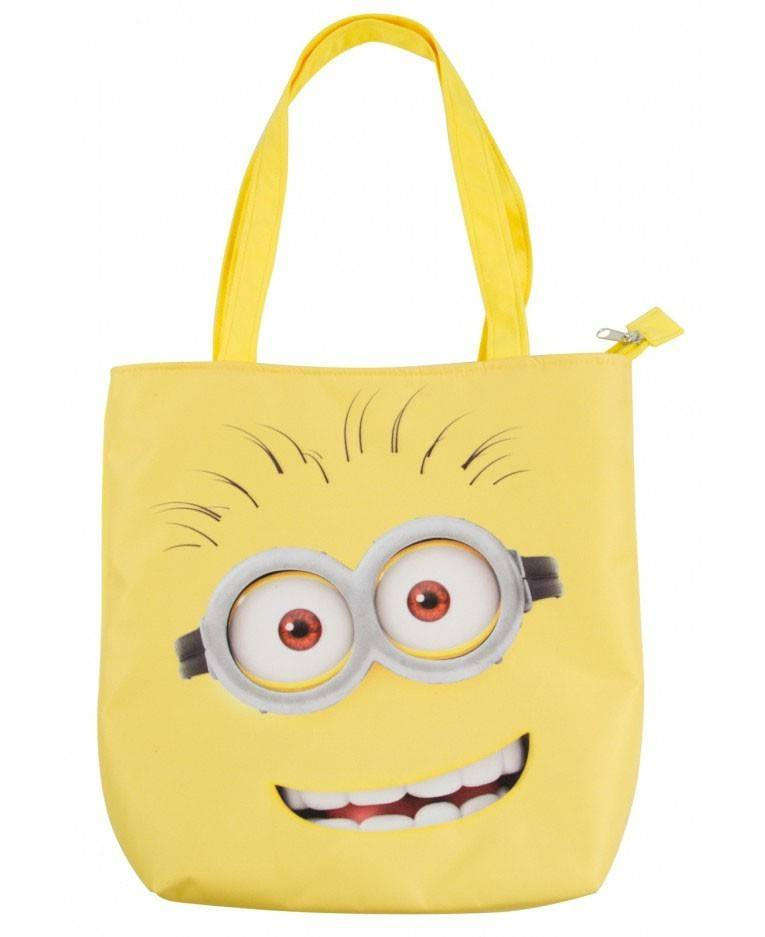 United Minions Tote Borsa Bag Minions Faces 32 X 30 Cm