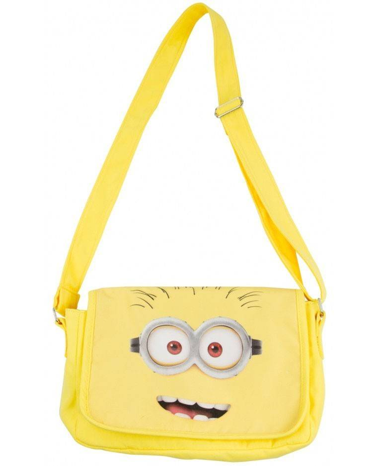 United Minions Messenger Borsa Bag Minions Faces
