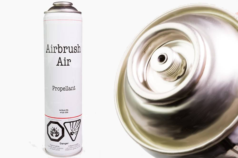 VALLEJO Airbrush Compressed Air Can 600ml Accessori Per Modellismo