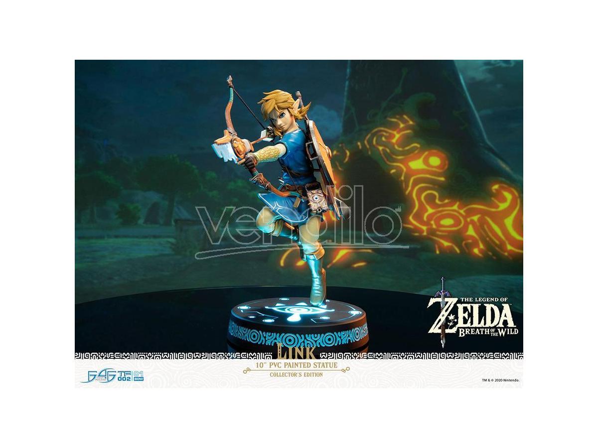FIRST4FIGURES Zelda Breath O/t Wild Link Da Collezioneed Statua