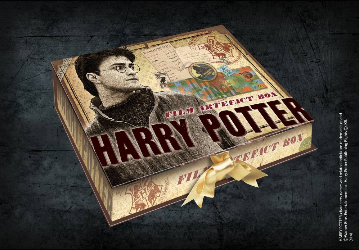 NOBLE COLLECTION Box Da Collezione Repliche Artefact Harry Potter