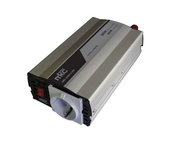 MKC POWER Inverter 300w Soft Start Uscita Sinosoidale Modificata 12vdc/220vca  Mkc-300b12-Usb