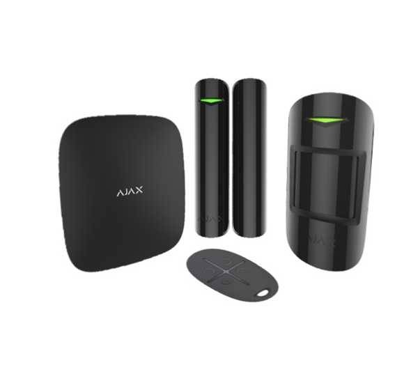 AJAX Kit allarme wireless AJAX - GSM - antifurto casa senza fili - app mobile  smart home - nero