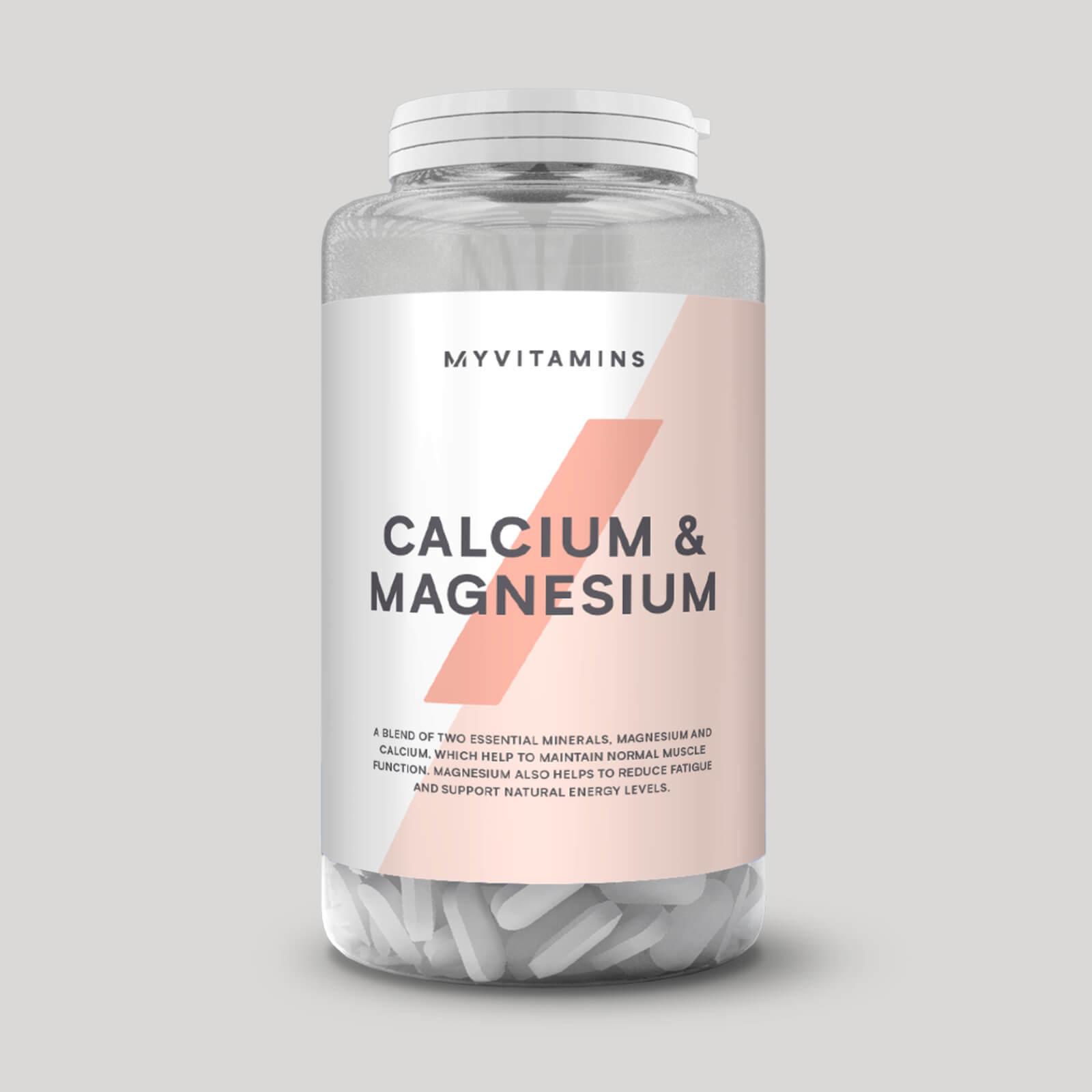 Myvitamins Calcio e Magnesio - 90Compresse