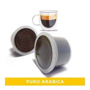 NeroRistretto 50 Capsule Compatibili Uno System®* Puro Arabica