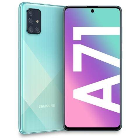 Samsung Smartphone Samsung Galaxy A71 Sm A715f 128 Gb Dual Sim Octa Core 6.7