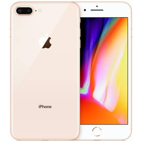 Apple Smartphone Apple Iphone 8 Plus 64 Gb 4g Lte Chip A11 Touch Id Ios 11 12 Mp Refurbished Oro